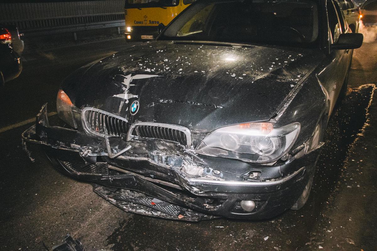 По данным полиции, водитель BMW находился в нетрезвом состоянии