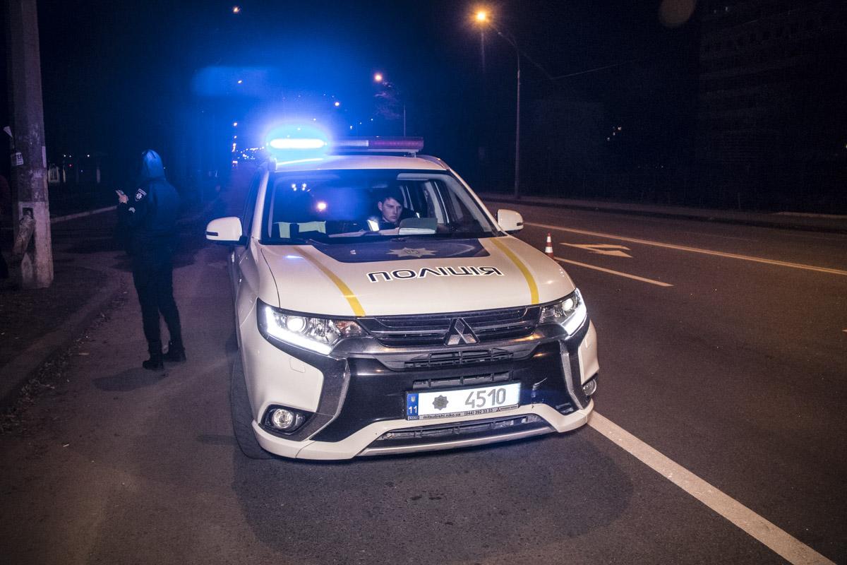Полицейские успели среагировать, поэтому повреждения получились минимальными
