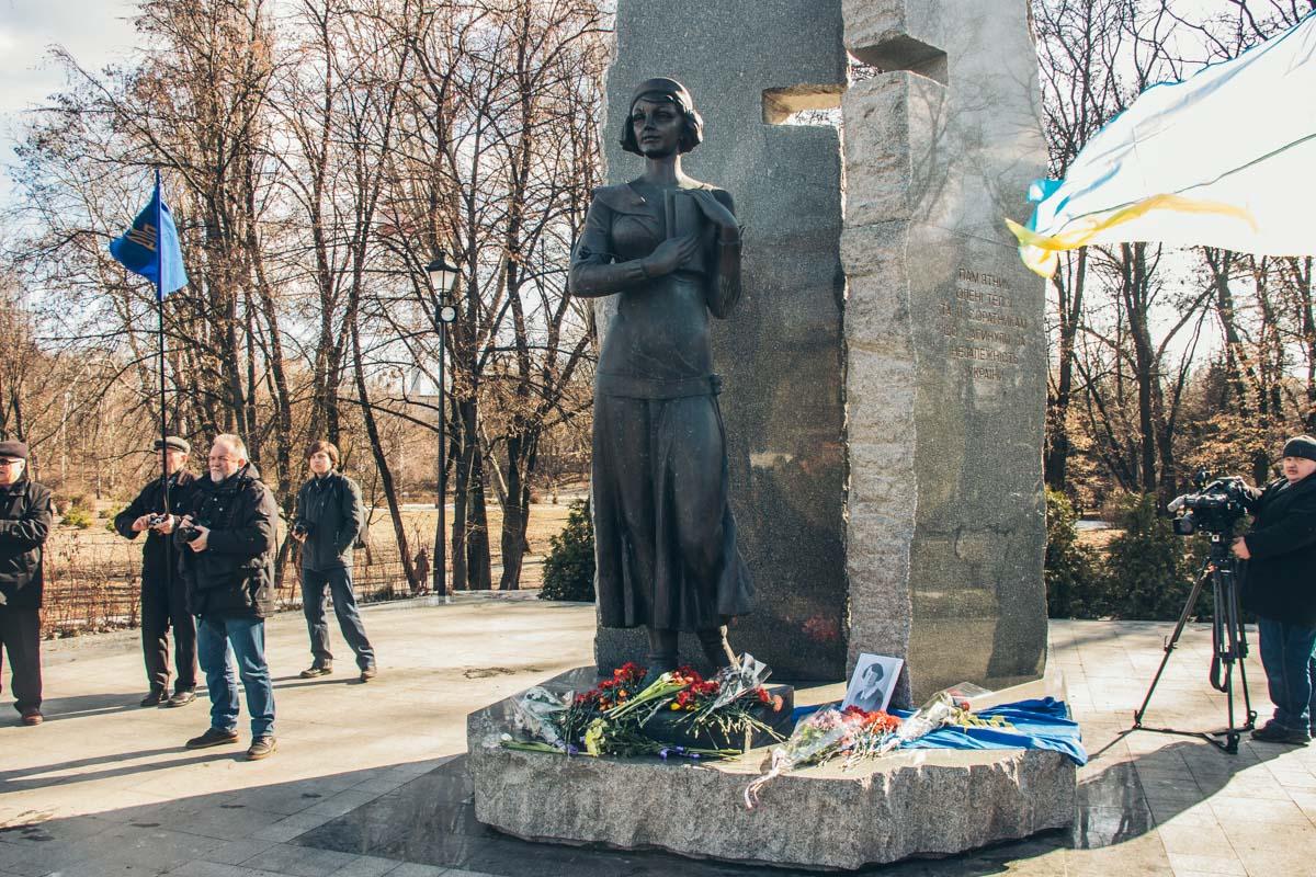 Елена Телига стала одним из символов борьбы за Украину