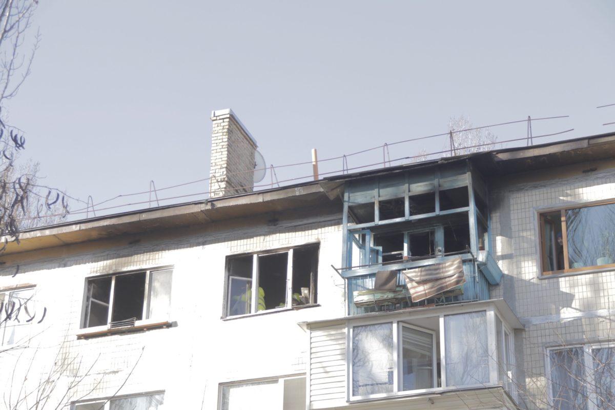 В результате пожара никто из людей не пострадал, однако, к сожалению, погиб кот