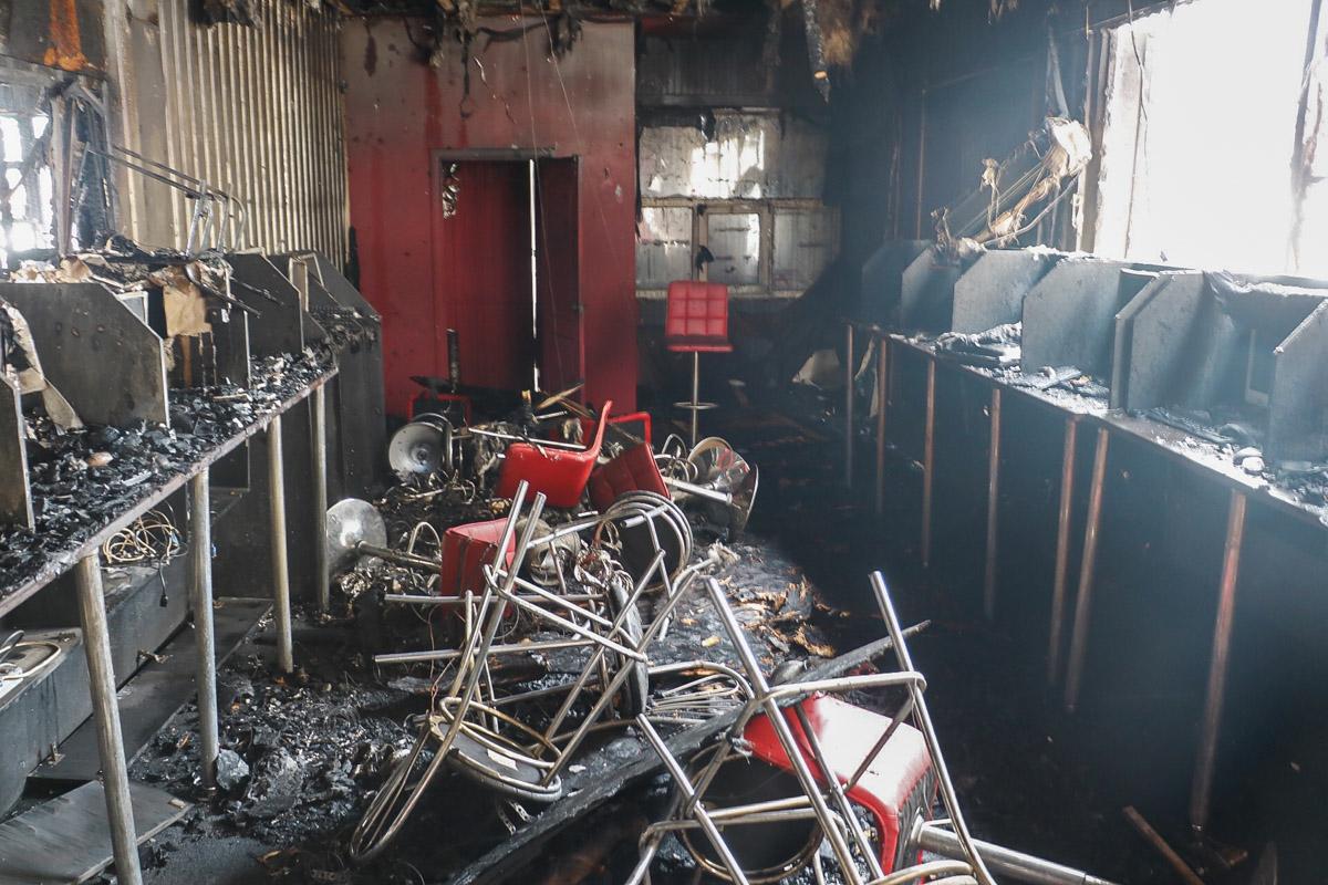 Что стало причиной пожара - установит следствие