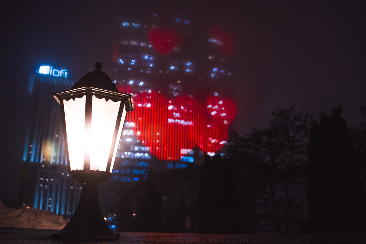 Также это сердце стало рекордсменом в Украине, благодаря появлению на самом большом экране Европы
