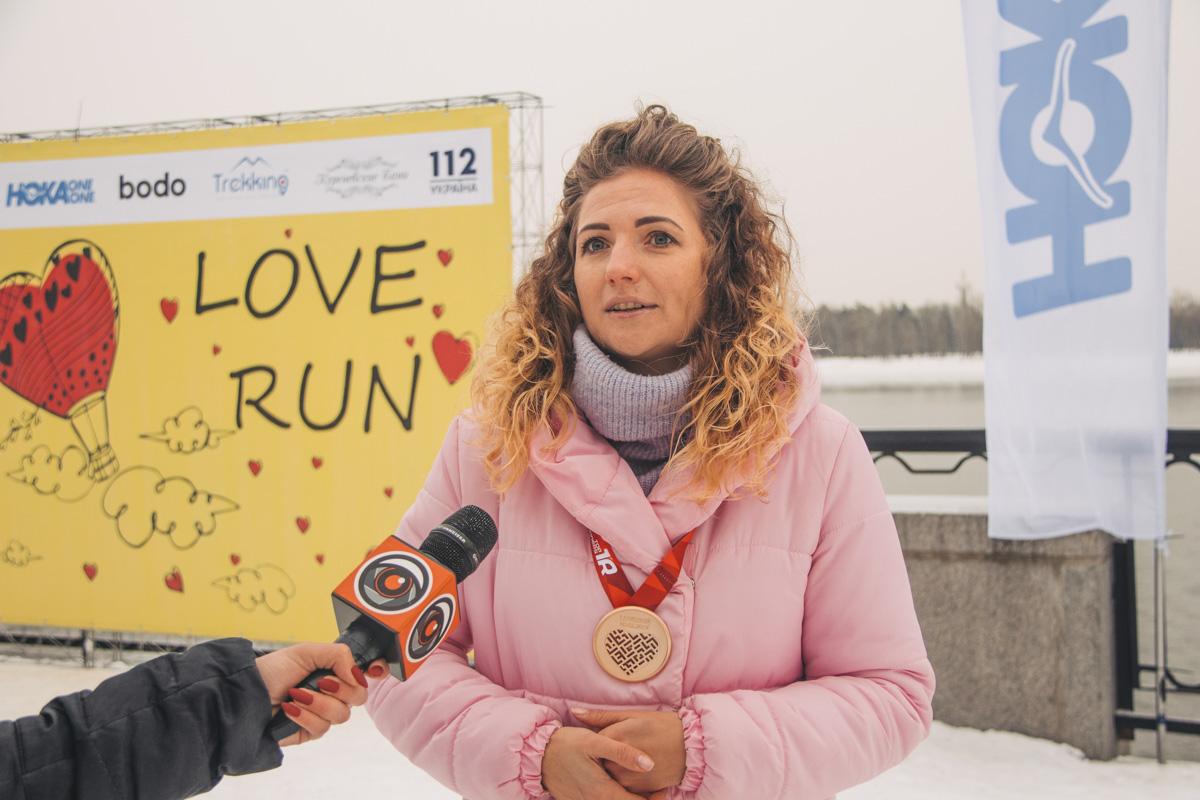 Организаторы поделились с нами, что событие проходит в столице уже четвертый раз и за три предыдущих года благодаря забегу познакомились десятки одиноких людей