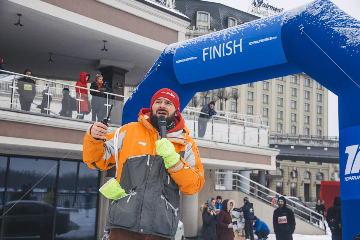 Участники марафона должны были преодолеть дистанцию 3 и 6 километров