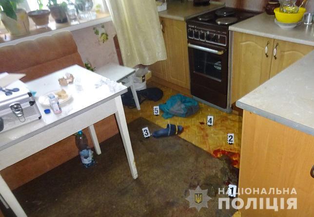 В Киеве женщина ударила ножом в грудь сожителя