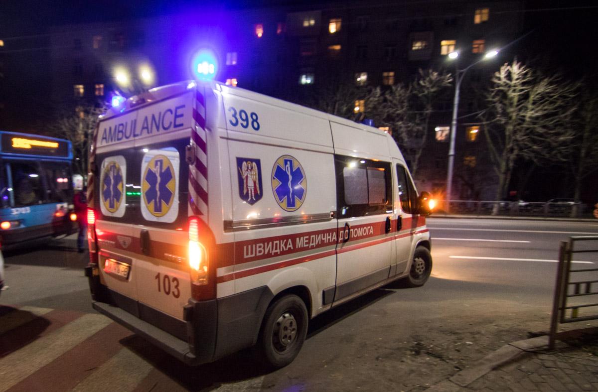 В результате аварии госпитализировали годовалого ребенка