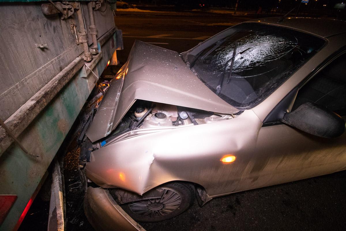 Предварительно, водитель находился в состоянии алкогольного опьянения
