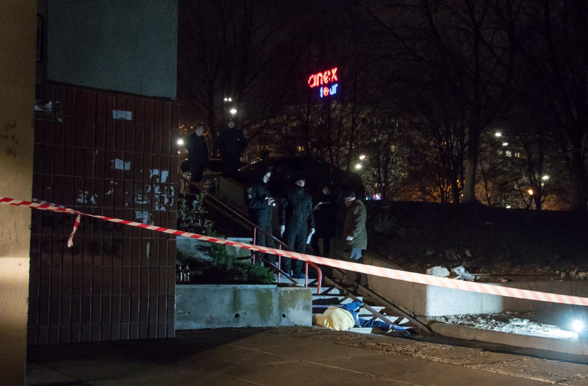 В ночь на 18 февраля в Киеве на бульваре Леси Украинки погибла женщина