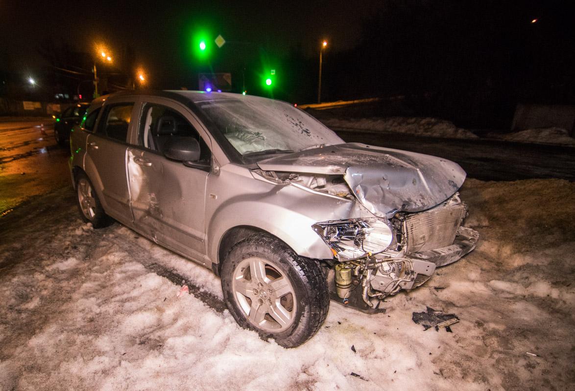 По предварительной информации,Dodge ехал по Кайсарова в сторону Ахтырского переулка