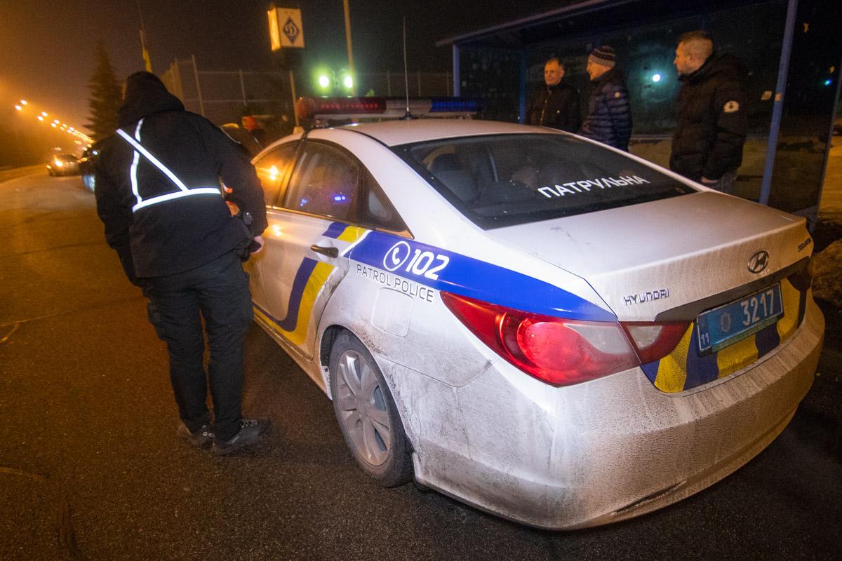 Обстоятельства ДТП выясняли патрульные