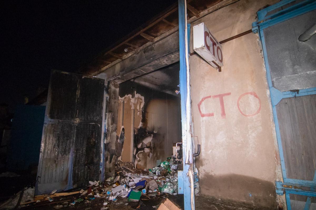 В субботу, 16 февраля, в Киеве на Дорогожичах произошел пожар