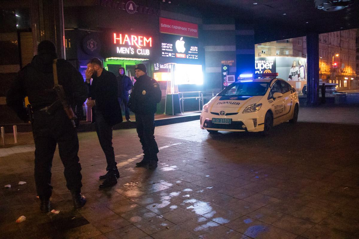В воскресенье, 17 февраля, в центре Киева группа неизвестных напала на мужчину
