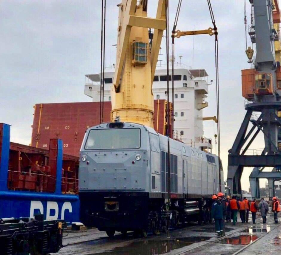 Новые локомотивы отправили на доукомплектование
