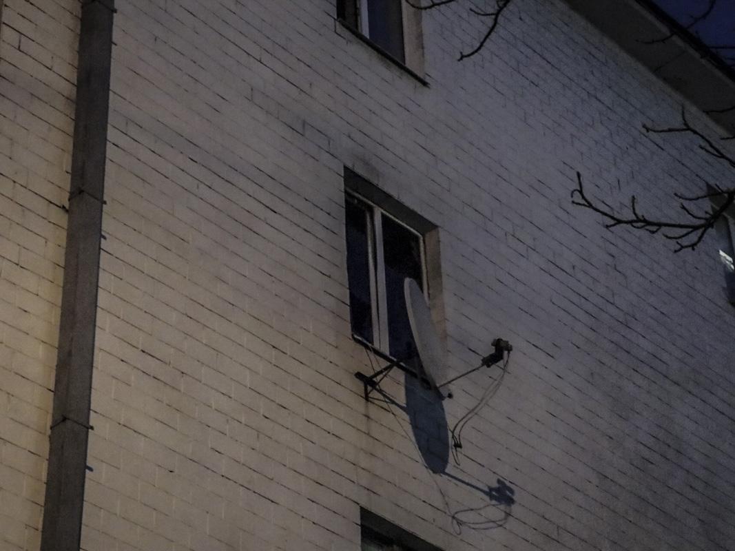 В субботу, 23 февраля, в Киеве произошел пожар