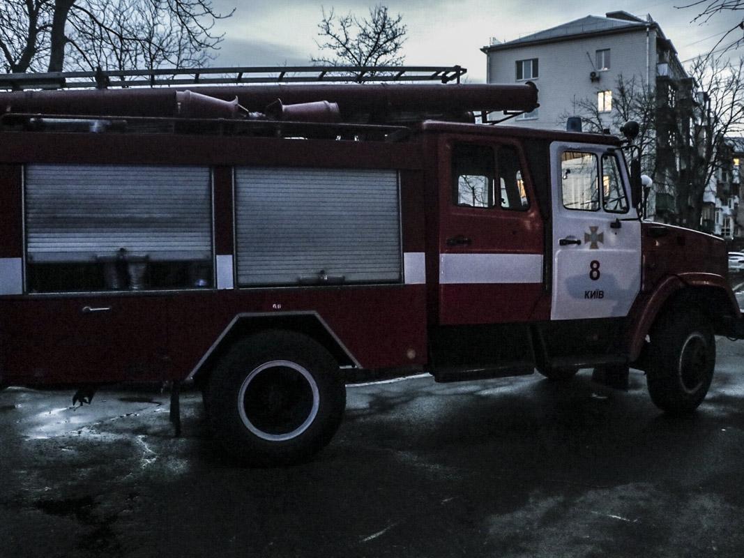 В момент возгорания внутри находились двое жильцов