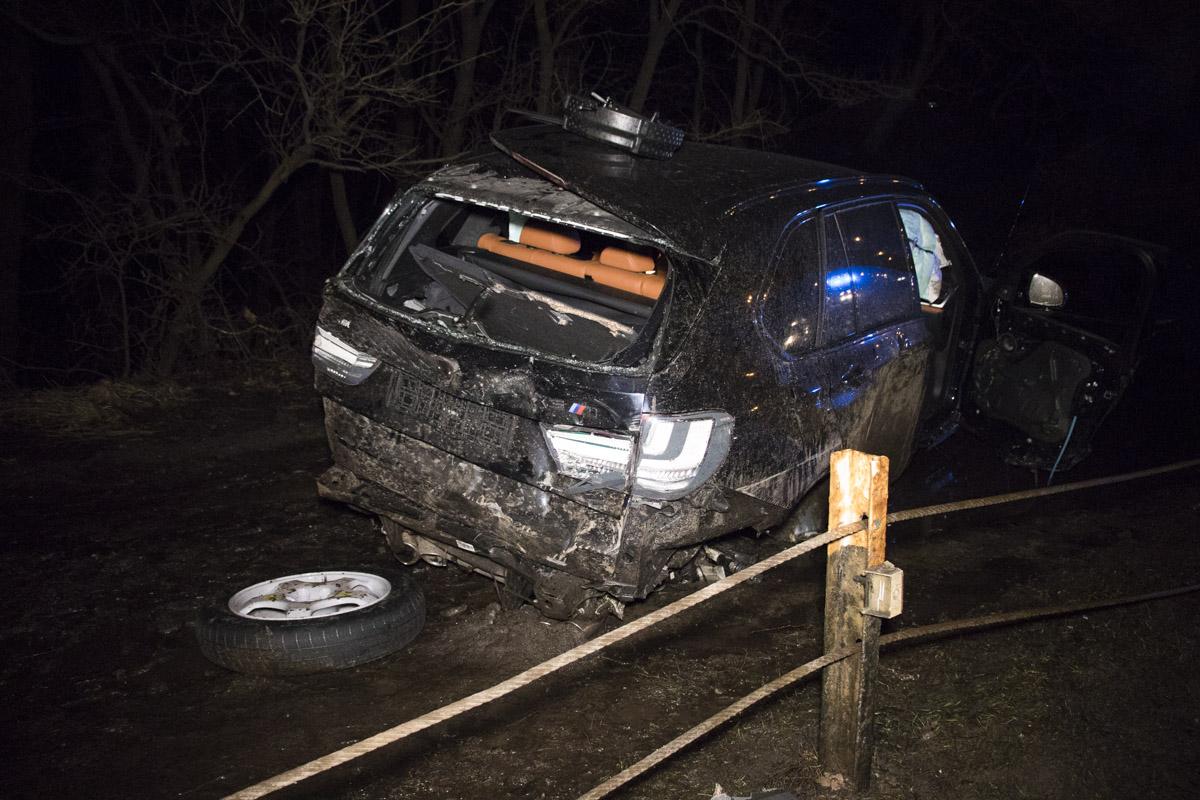 По словам очевидцев, немецкий автомобиль ехал на огромной скорости