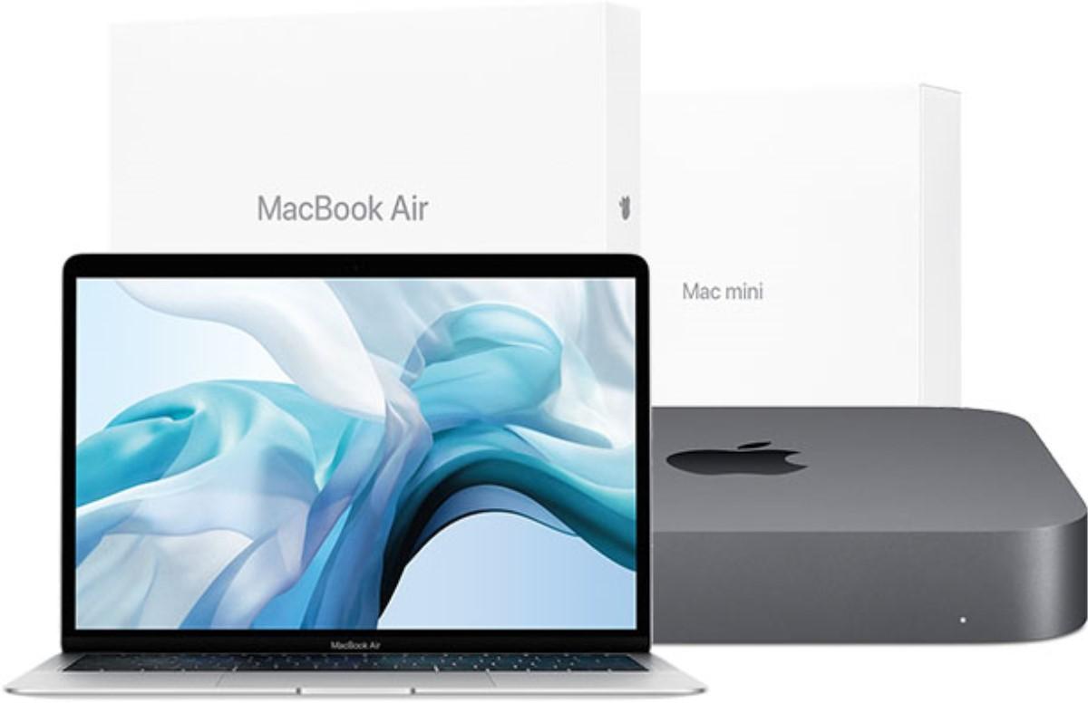 Apple запустили продажу восстановленных MacBook Air и Mac mini 2018 года