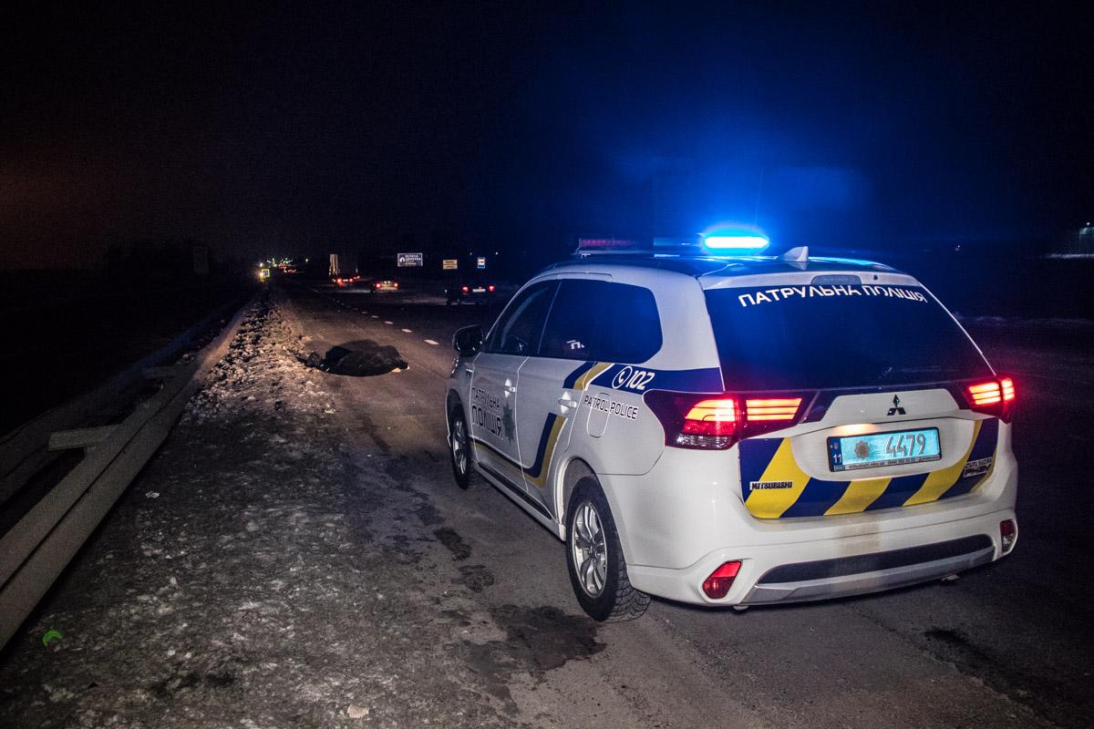Под Киевом в селе Скибин Renault сбил пешехода