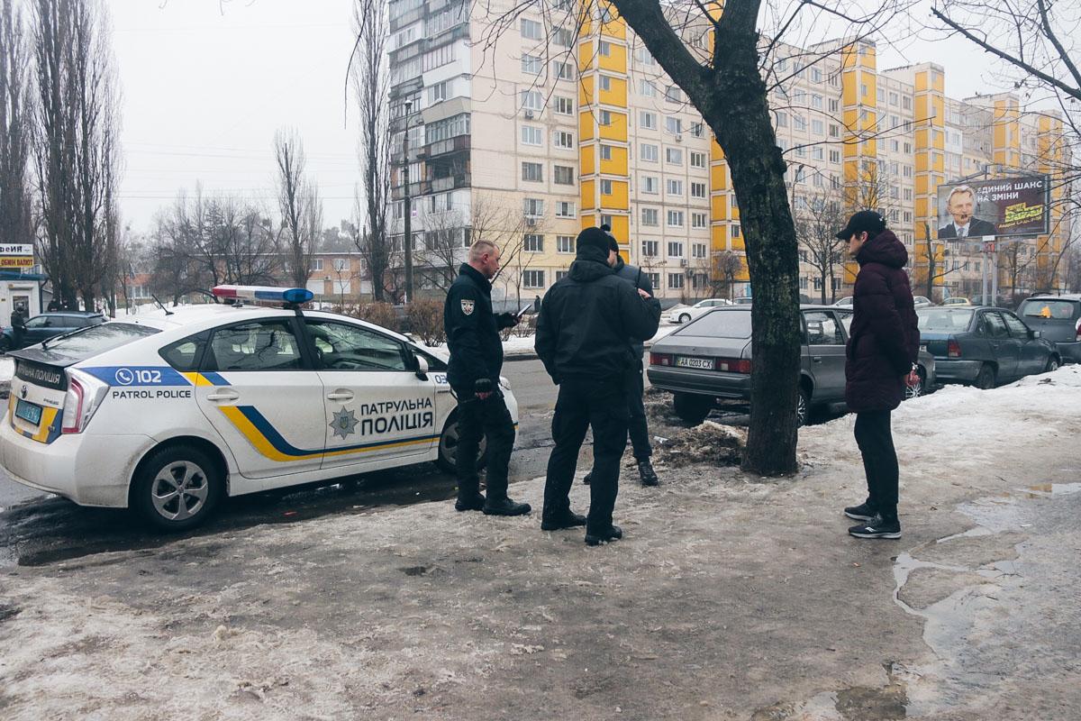 В пятницу, 1 февраля, в Киеве по адресу улица Шолом-Алейхема, 17 произошла стрельба
