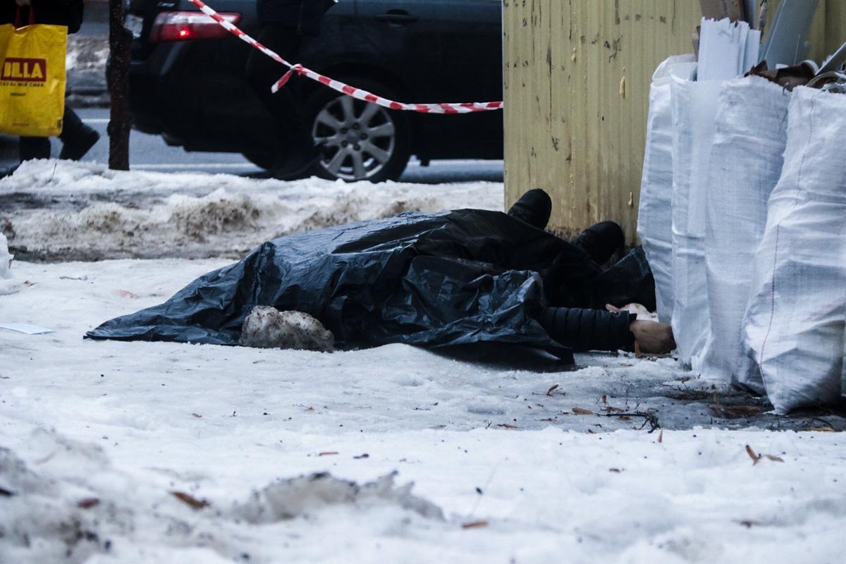 На теле были обнаружены следы насильственной смерти