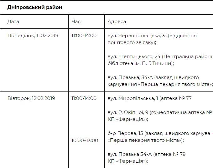 Где можно пройти бесплатное обследование в Днепровском районе