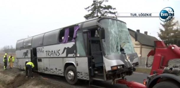 Водитель автобуса скончался на месте, двое пассажиров получили ранения