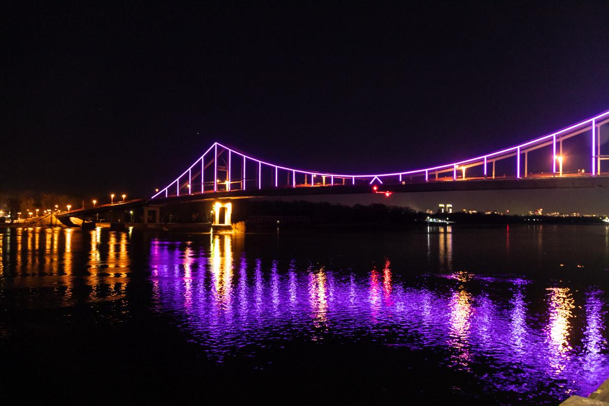 Фиолетовый цвет является символом этого важного для сознания людей дня