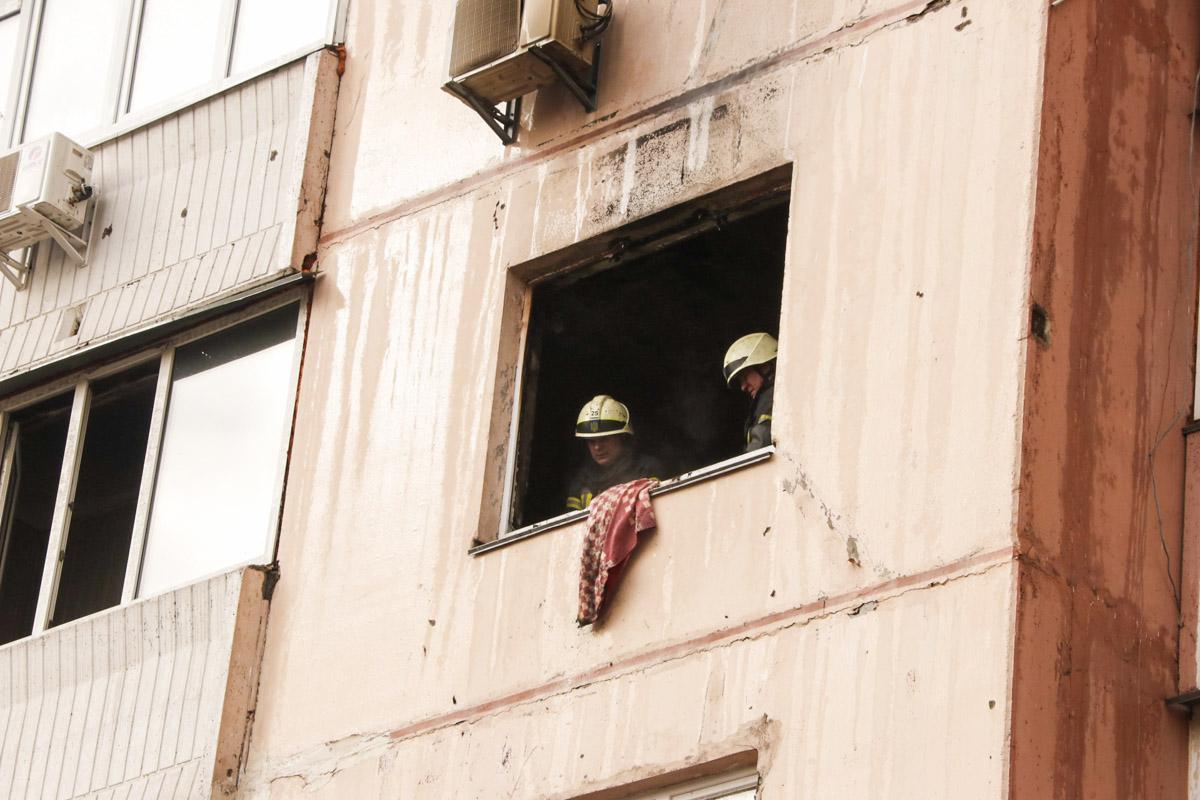 В пятницу, 29 марта, в Киеве по адресу улица Автозаводская, 61 произошел пожар