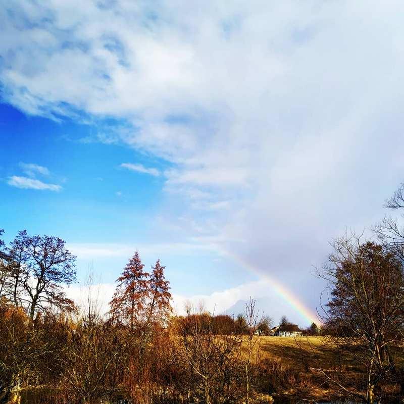 Рассекая небо. Фото: @anaartko