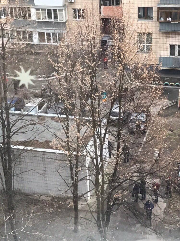 Фото из личных источников с места события