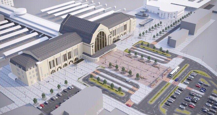 Так будет выглядеть площадь после реконструкции