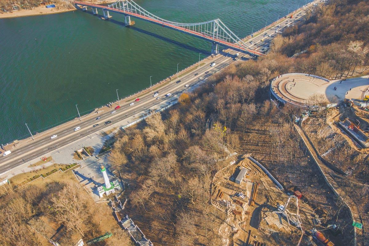 Открытие моста планируют приурочить к дню Киева 26 мая