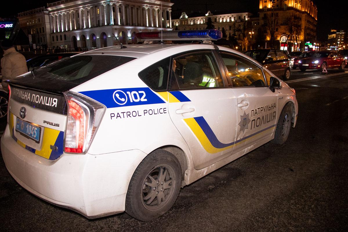 На месте происшествия находился один экипаж патрульной полиции