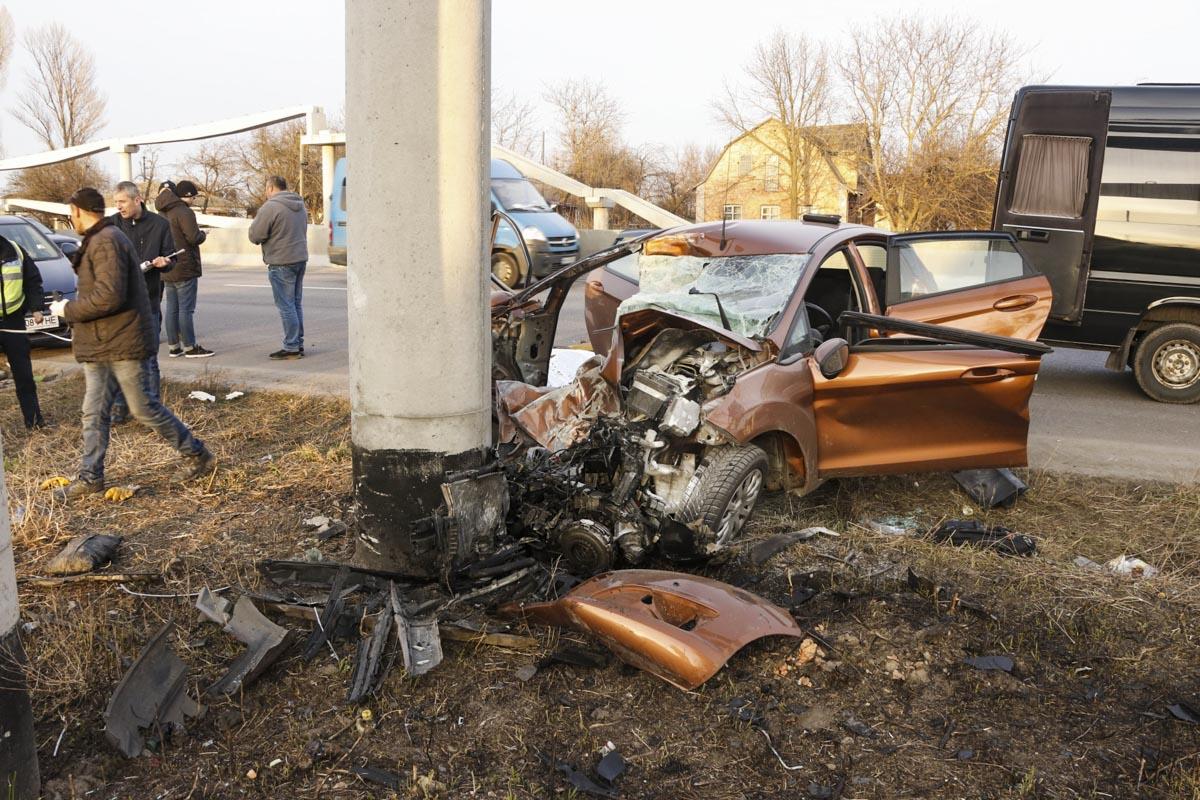 На Одесской трассе в селе Ксаверовка произошло смертельное ДТП