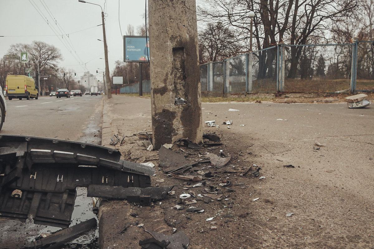 В результате аварии пострадала девушка-полицейская