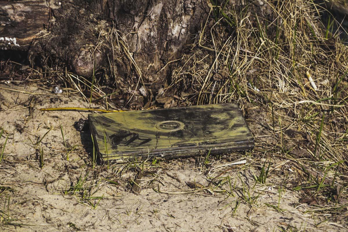 Ноутбук, который подняли со дна Днепра
