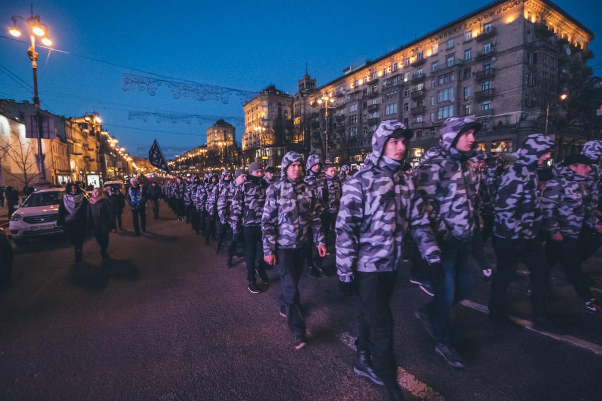 Марш прошел без пиротехники и громких заявлений