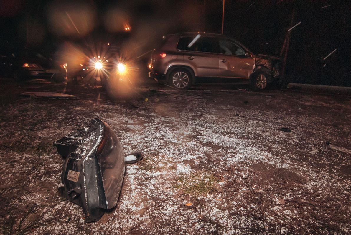 Единственной пострадавшей в результате ДТП стала девушка-пассажир Superb, которую водитель решил подвезти