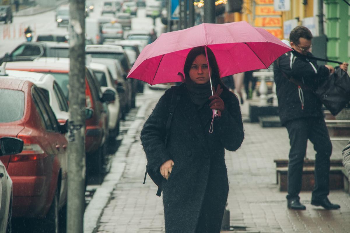 Если зонтик есть, то можно смело гулять по городу