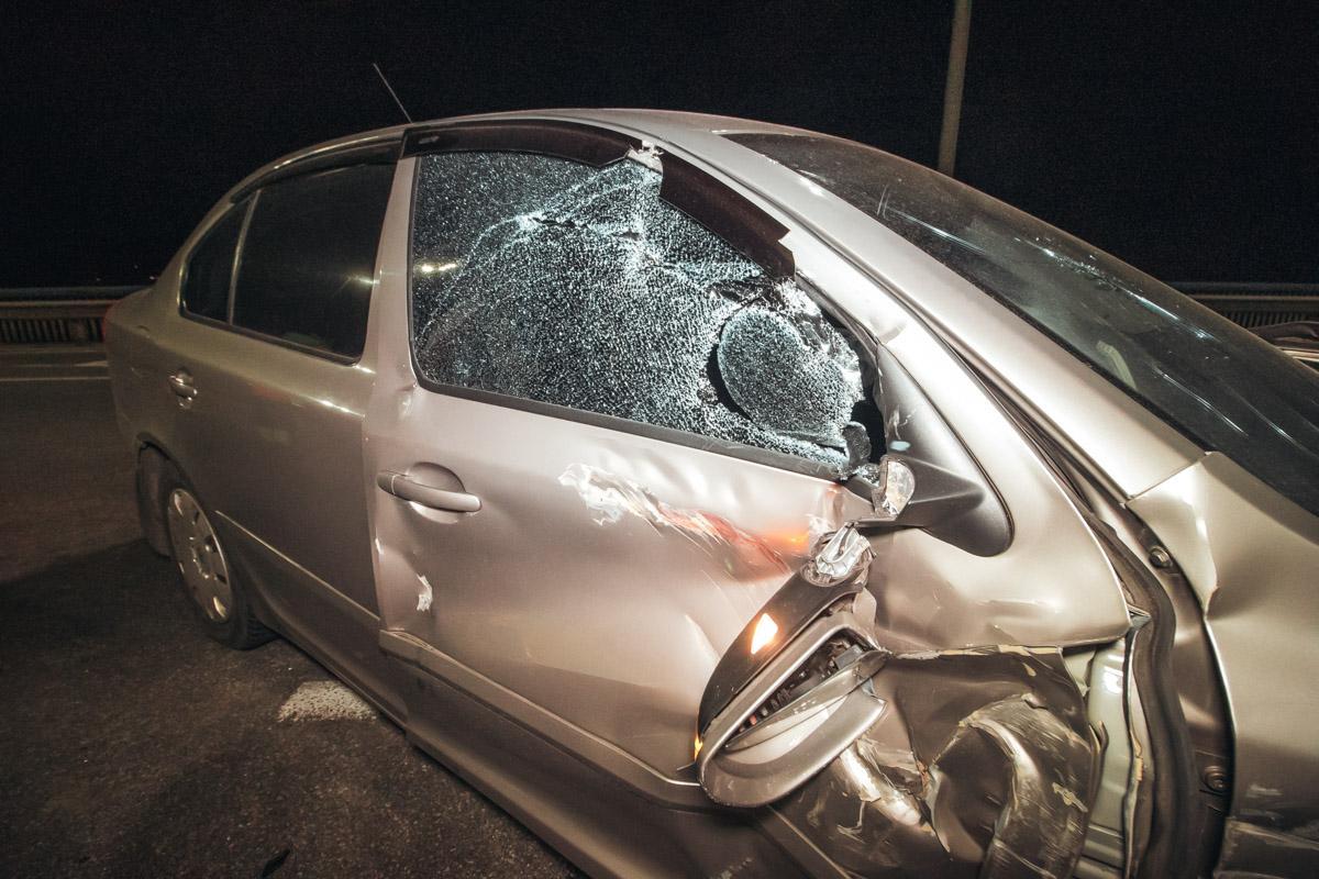 К счастью, в результате аварии никто не пострадал