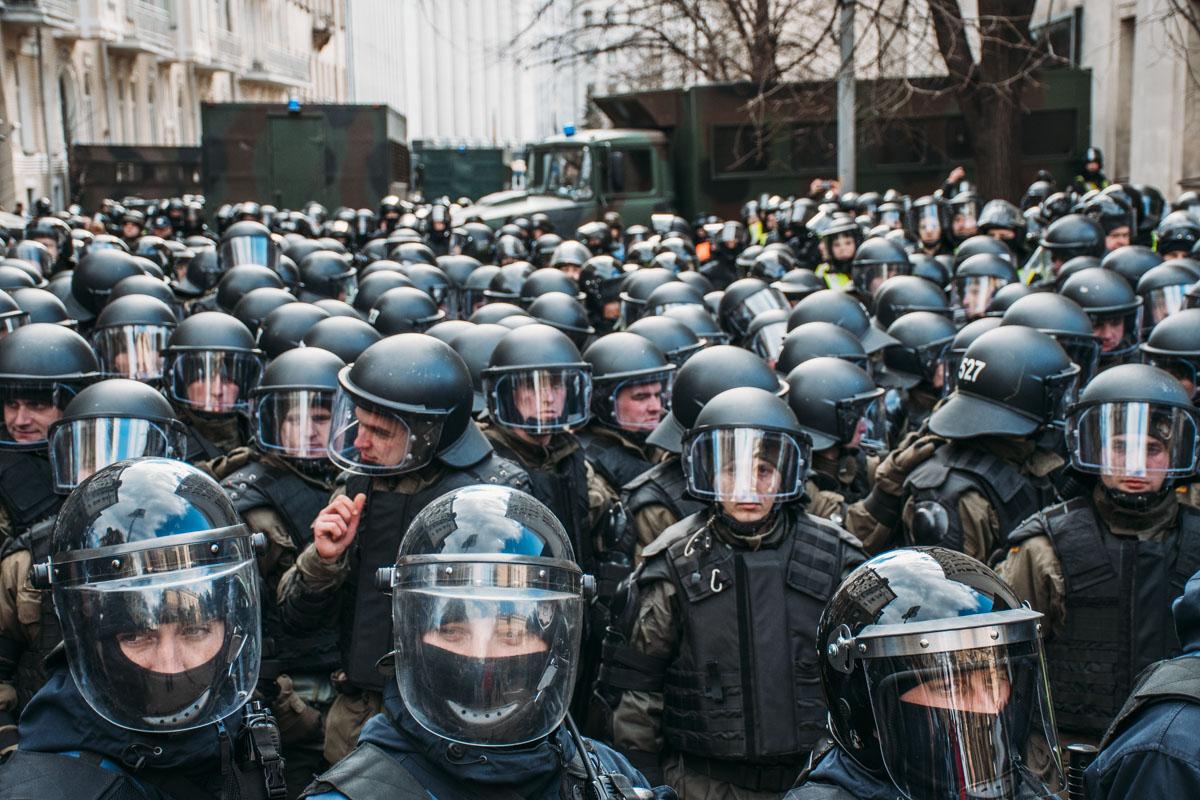 Порядок охраняли более 1500 полицейских и членов Нацгвардии