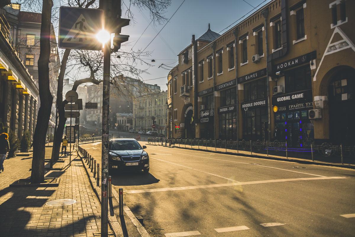 Теплое весеннее солнце будет греть город весь день