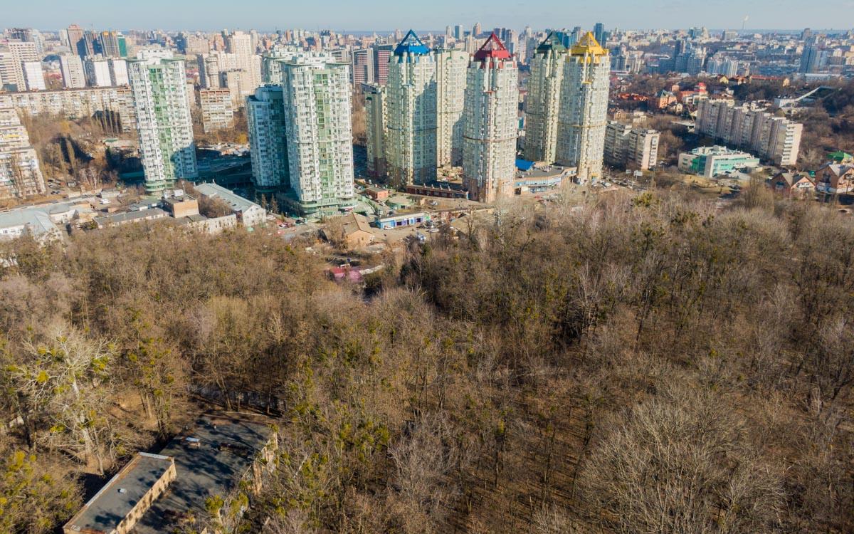 Как киевский Нью-Йорк: рядом с высотками частичка нетронутой природы