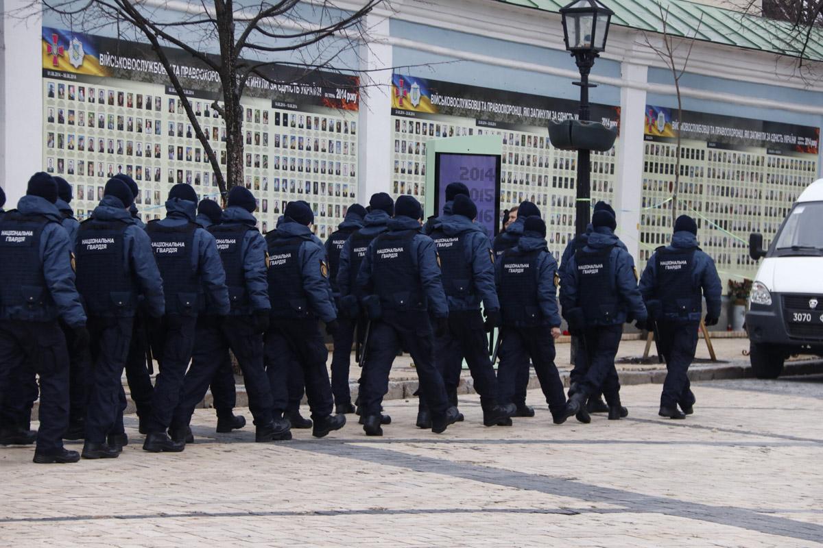 17 марта в центр Киева начали стягивать подразделения полиции