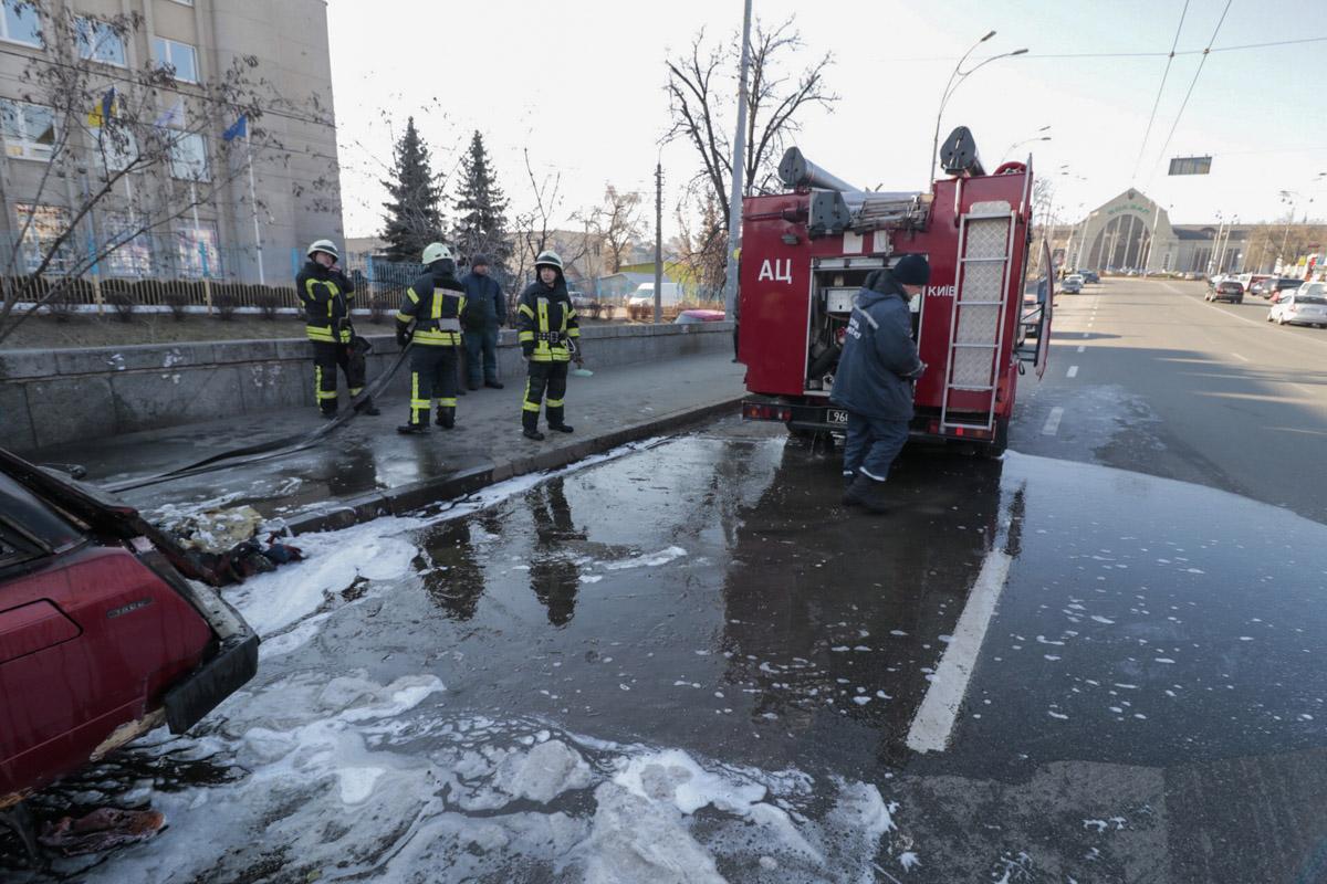 Для ликвидация задействовали две единицы пожарной техники
