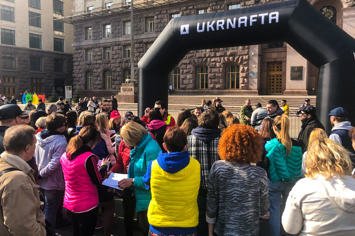 В пятницу, 8 марта, в центре Киева стартовало ежегодное авторалли среди женщин