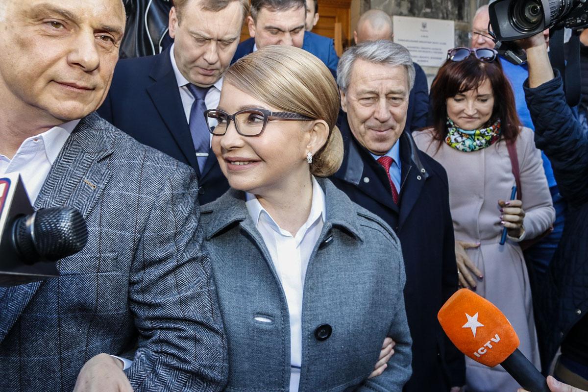 Тимошенко была настроена только на победу