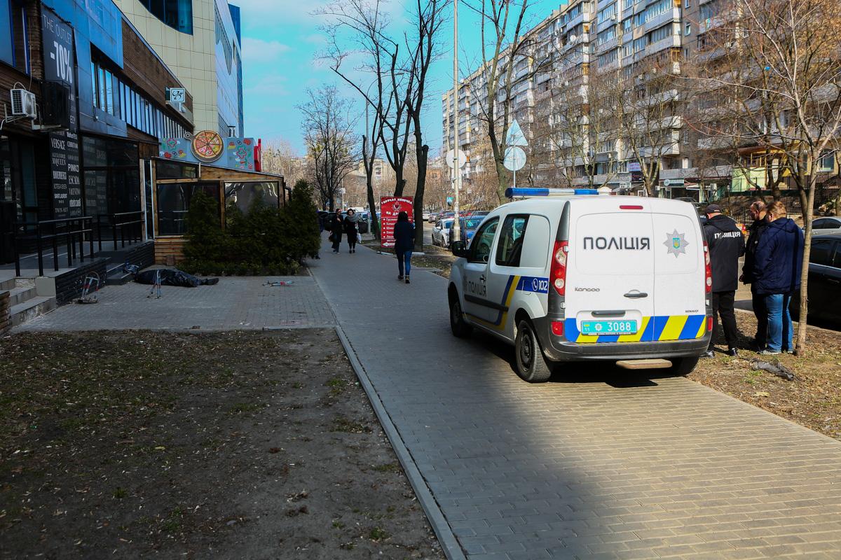 В Киеве в районе Южного железнодорожного вокзала погиб человек
