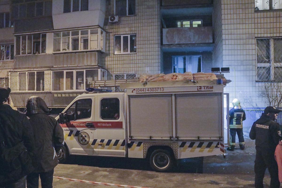 Всех жильцов эвакуировали, поскольку существовал риск утечки и взрыва газа