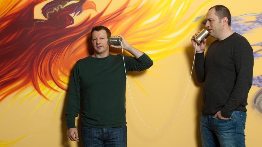 Брайан Эктон и Ян Кум - основатели WhatsApp
